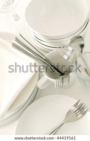 Tableware - stock photo