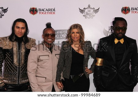 Taboo, Apl.de.Ap, Stacy Ferguson and Will i Am  at the Black Eyed Peas 7th Annual Peapod Benefit Concert, Music Box, Hollywood, CA. 02-10-11