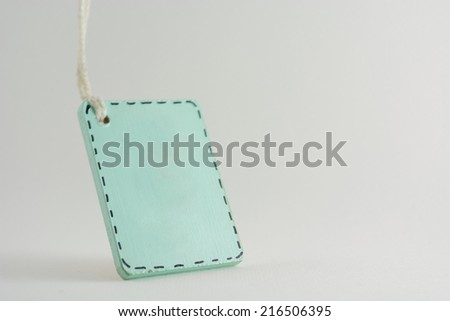tag name vintage - stock photo