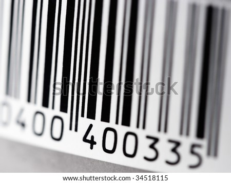 Tag with bar code