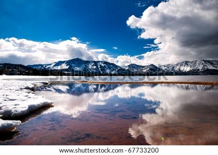 Tahoe Keys - stock photo