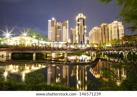 Taichung Night, Taiwan