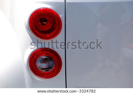 tail light - stock photo