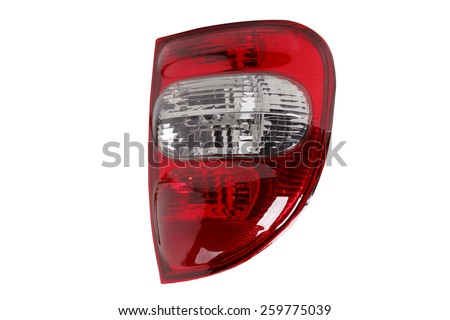 taillight 	  - stock photo