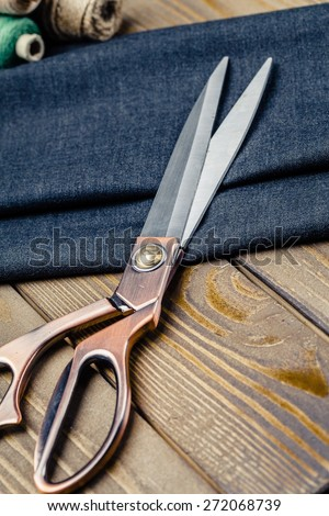 Tailored, tailoring, tailor. - stock photo