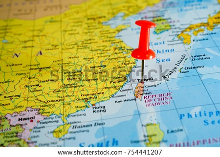 Taiwan map background stock photo download now 754441207 taiwan map background gumiabroncs Choice Image