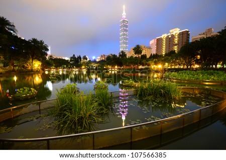 Taiwan Taipei 101 - stock photo
