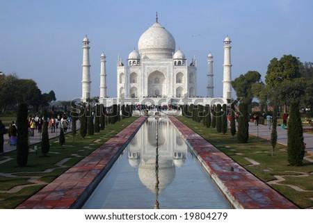 Taj Mahal 02 - stock photo