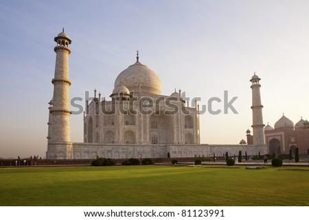Taj Mahal. - stock photo