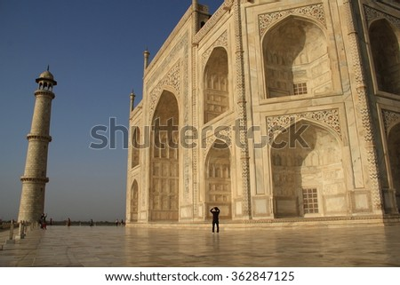 Taj Mahal, Close Up