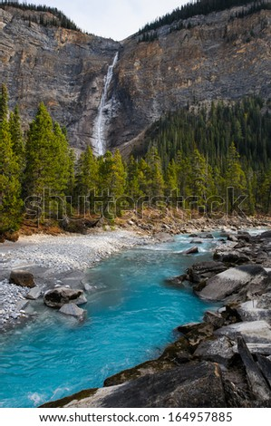 Takakkaw Falls area Yoho National Park British Columbia Canada