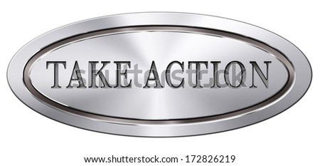 take action it is time act now. Start moving it is now or never! - stock photo