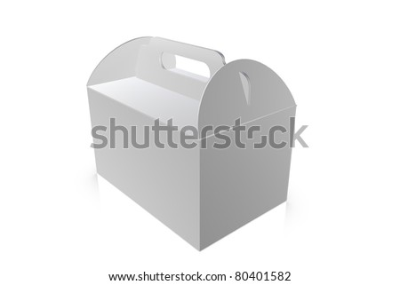 Take-away box - stock photo