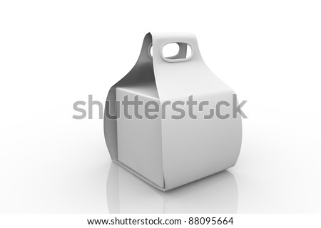 Take-away box - stock photo