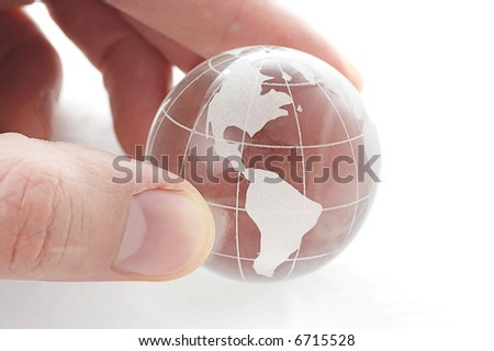 Take care of the world - stock photo