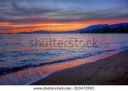 Take me back to the beach! - stock photo