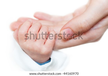 Take my hand - stock photo
