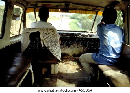 Take Public Transport with Confidence - stock photo