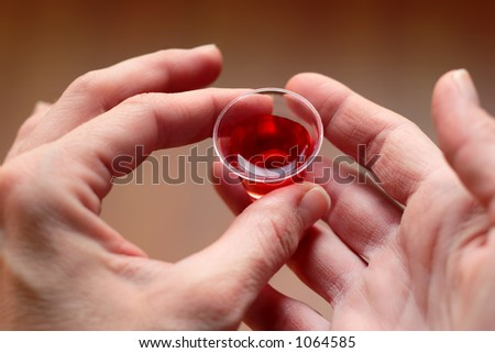 Taking Communion