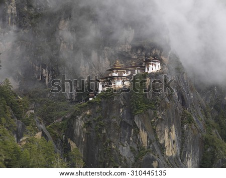 Taktsang Monastery, Paro Valley, Paro District, Bhutan