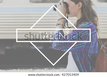 Talent Skills Expression Hobby Lifestyle Concept - stock photo