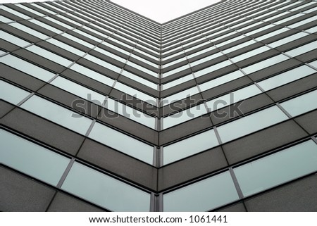 Tall business building 3 - stock photo