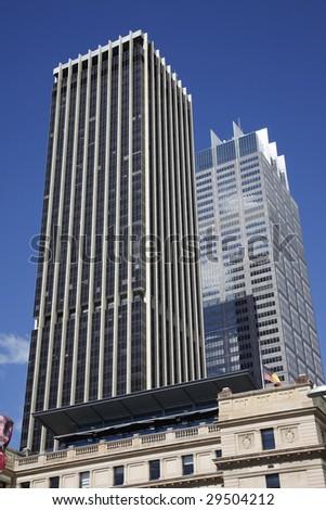 Tall High Rise Urban Office Building In Sydney, Australia - stock photo