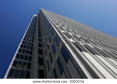 Tall Skyscraper in San Francisco - stock photo