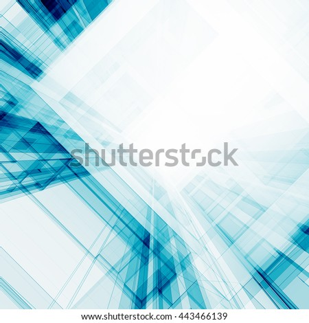 Tall tunnel. Concept 3D rendering - stock photo