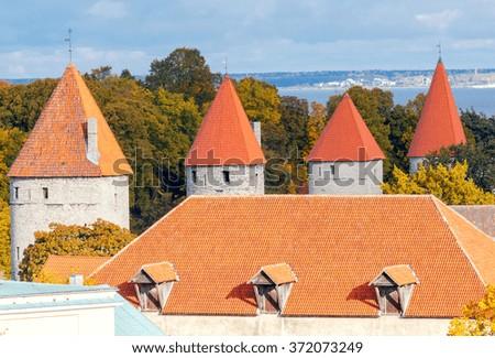 Tallinn. Estonia. Old city. - stock photo