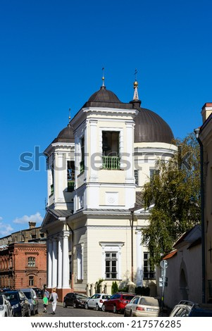 TALLINN, ESTONIA - SEP 8, 2014: Historical Centre of Tallinn, Estonia. It's part of the UNESCO World Heritage site