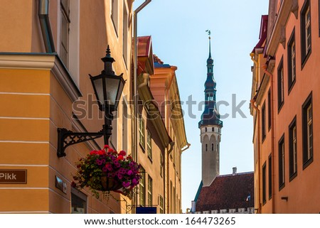 Tallinn in Estonia, Europe - stock photo