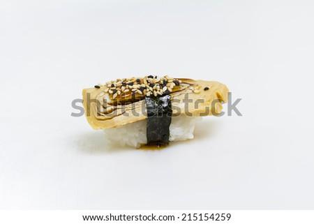Tamago Nigiri Sushi Tamago Sushi Nigiri