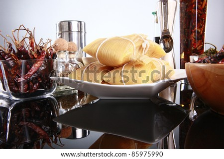 Tamale and friends - stock photo