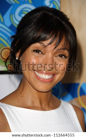 "Tamara Taylor at ""Fox All-Star Party At The Pier"". Santa Monica Pier, Santa Monica, CA. 07-23-07 - stock photo"