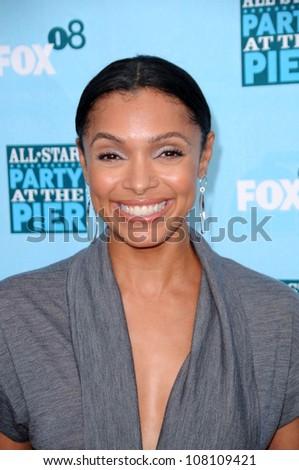 Tamara Taylor  at the FOX All Star Party. Santa Monica Pier, Santa Monica, CA. 07-14-08 - stock photo