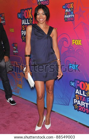 "Tamara Taylor - star of ""Bones"" - at Fox TV's All Star Party at Santa Monica Pier. August 2, 2010  Santa Monica, CA Picture: Paul Smith / Featureflash"