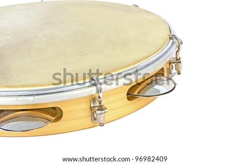 Tambourine - stock photo