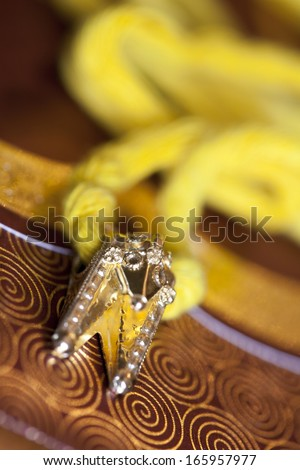 Tamil Indian Wedding Thali Stock Photo 165957977 Shutterstock