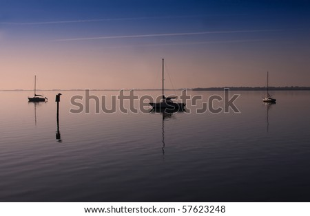 Tampa Bay in Safety Harbor, Florida - stock photo