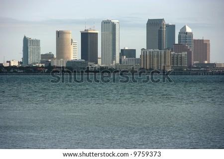 Tampa downtown, Florida - stock photo