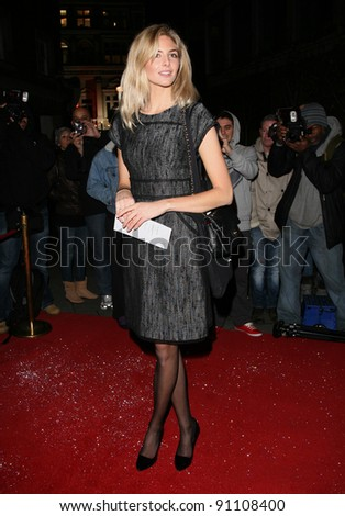Tamsin Egerton arriving for the English National Ballet Christmas showing of The Nutcracker, at The Coliseum Theatre, London. 14/12/2011 Picture by: Alexandra Glen / Featureflash