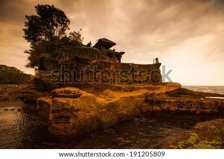 Tanah Lot, Bali. Indonesia. - stock photo