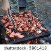 Tandoori barbecue chicken - stock photo