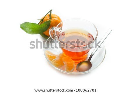 tangerine tea or tangerine punch