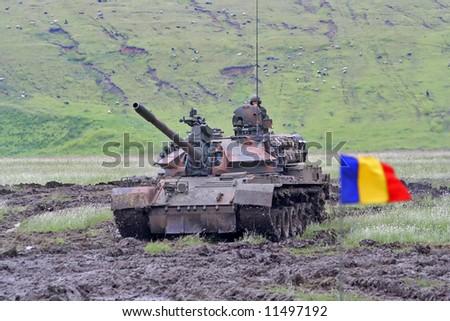 Tank. Army. - stock photo