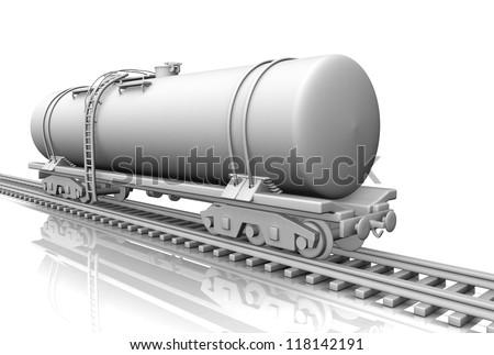 tank wagon - stock photo