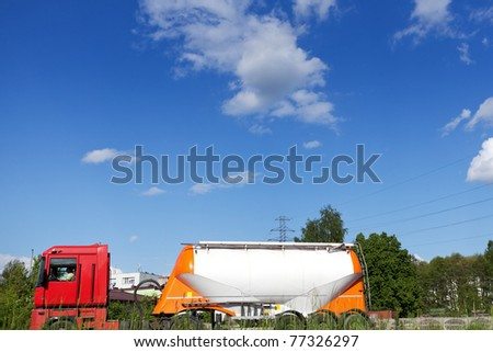 Tanker Truck - stock photo