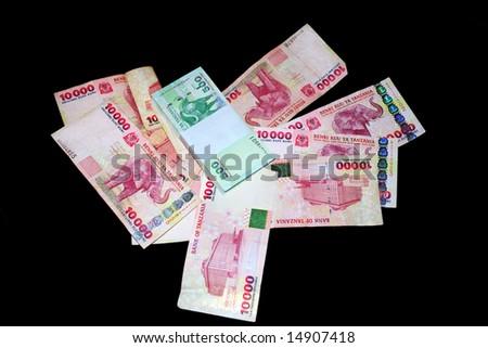 Tanzanian Shillings - stock photo