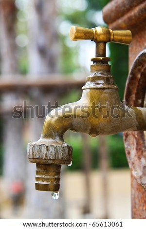 tap and water conservation
